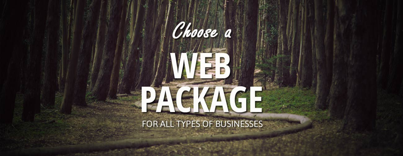 choose a web package