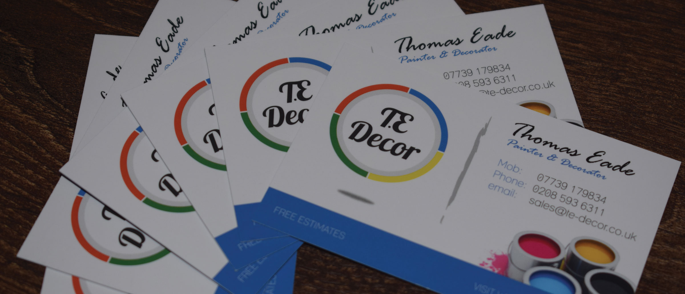 Business Card Design and Printing - Romford Web Design